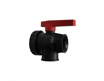 Polypropylene 3 Way Ball Valve