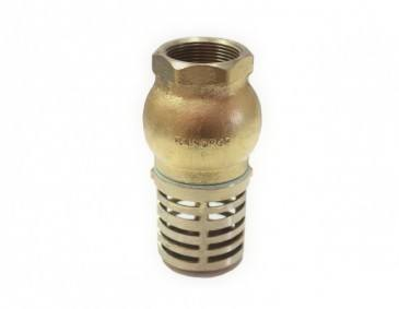 Foot Valves – Bronze And Brass