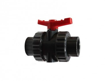 PVC Ball Valve – Double Union (Threaded)